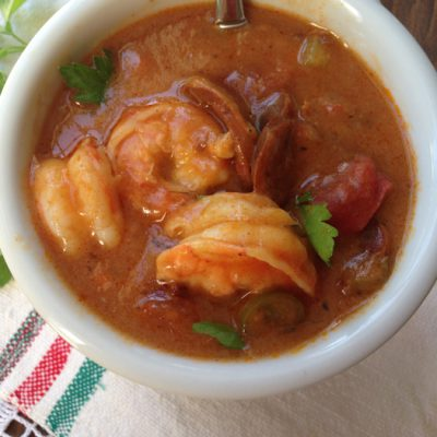 Shrimp Sausage Gumbo Recipe