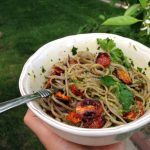 Broiled Tomatoes & Soba Noodles