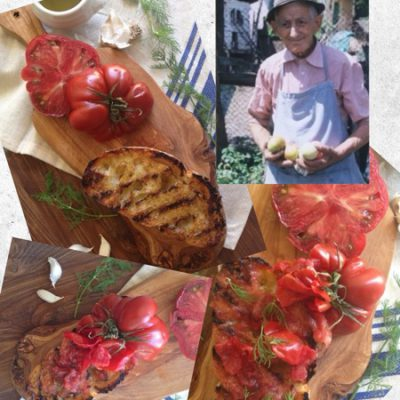 Tomato Bread Recipe ( Bruschetta )