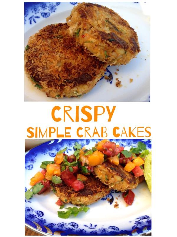 Crispy Simple Crab Cake Recipe