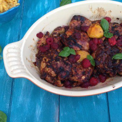 Raspberry Balsamic Chicken Recipe