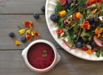 Herb Salad with Blueberry Dressing Recipe