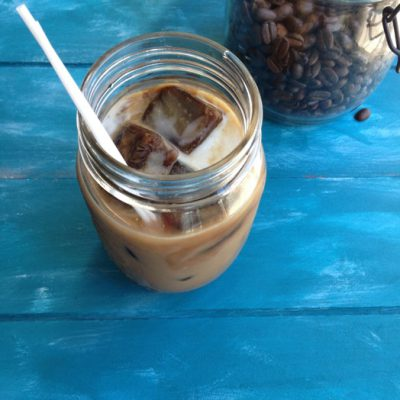 Iced Coconut Milk Latte Recipe