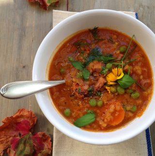 Homemade Lentil Soup Recipe