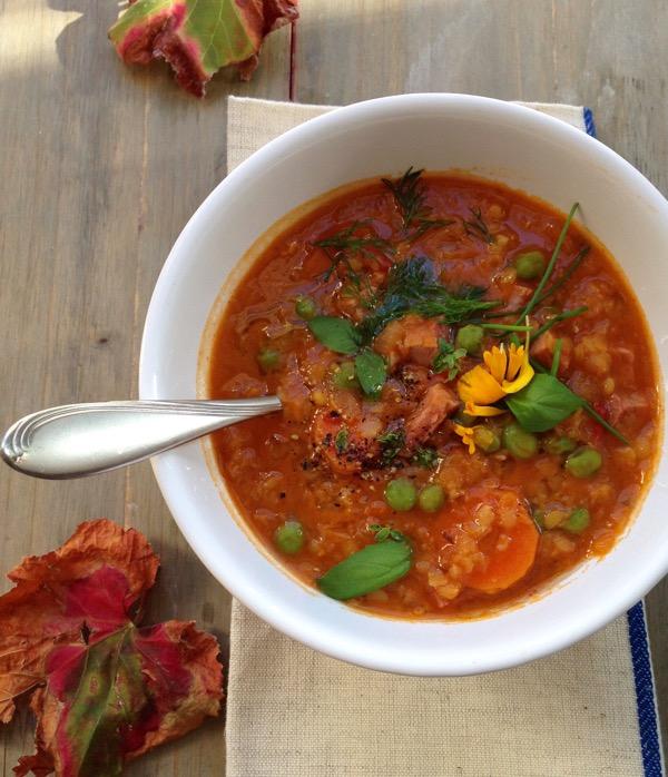 Homemade Red Lentil Soup Recipe (Vegan)