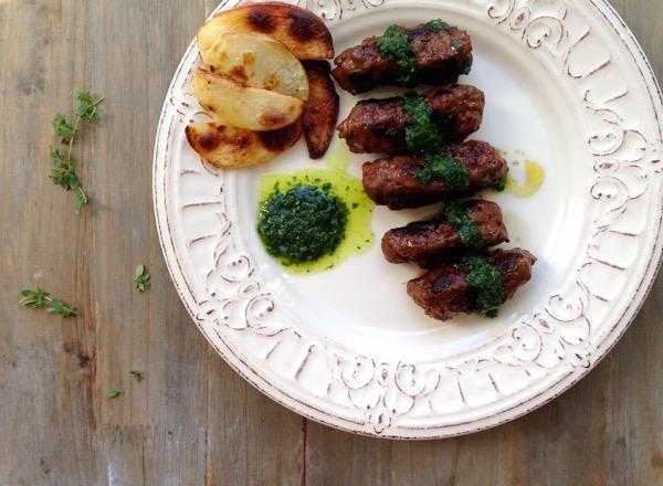 Mititei or Mini Kebabs Recipe
