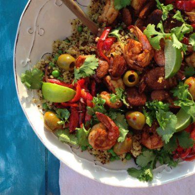Quinoa Shrimp Bowls Recipe