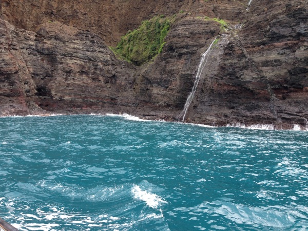 Napali Waterfalls