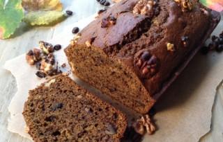 Espresso Pumpkin Walnut Bread