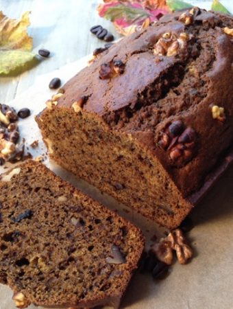 Espresso Pumpkin Walnut Bread