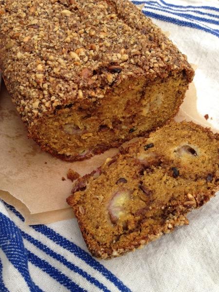 Gluten Free Pumpkin Banana Bread Recipe • Ciao Florentina