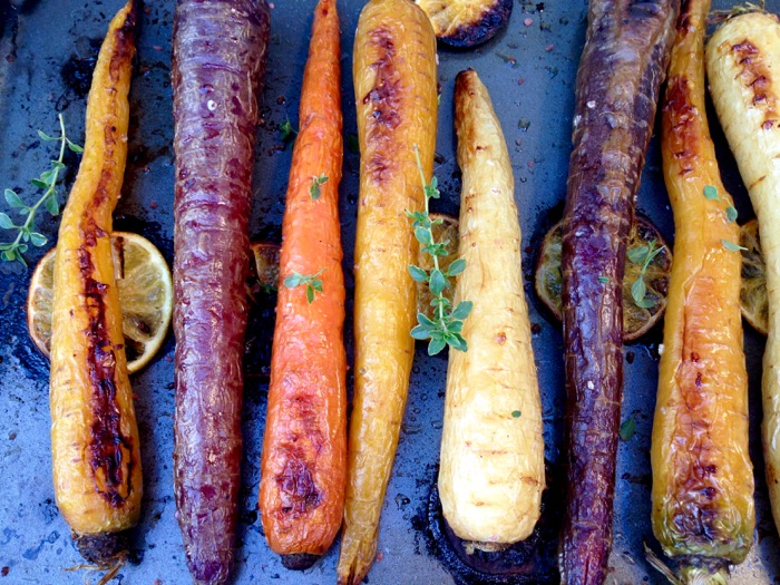 Heirloom Roasted Carrots Recipe