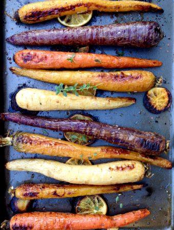 Roasted Heirloom Carrots Recipe