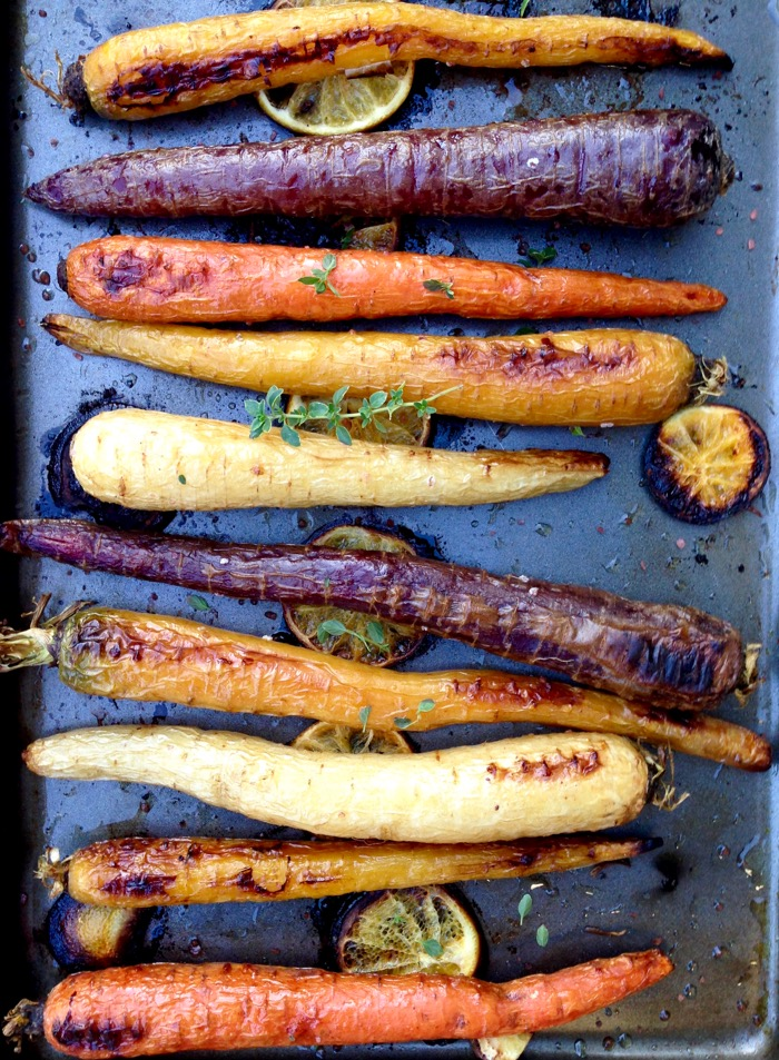 Roasted Heirloom Carrots Recipe