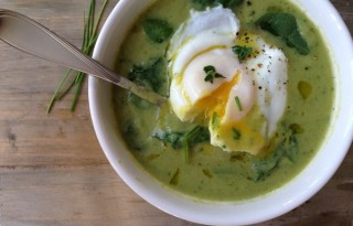 Broccolli Spinach Soup