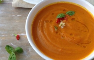 Orange Rum Carrot Soup Recipe