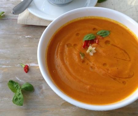 Orange Rum Carrot Soup Recipe