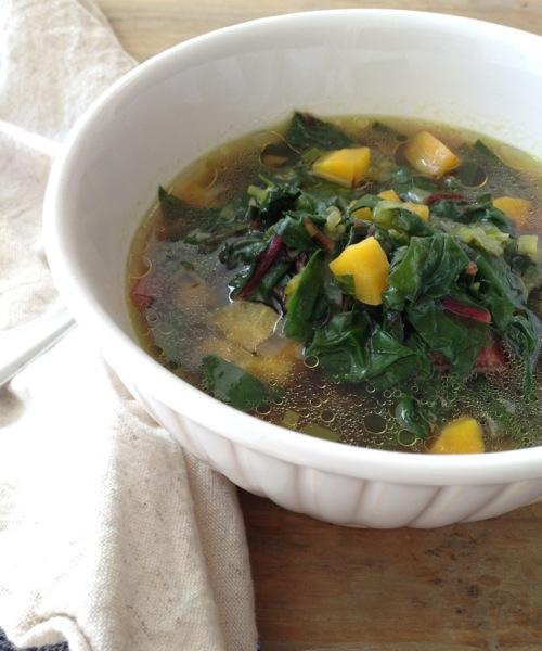 Immunity Leek & Chard Soup Recipe