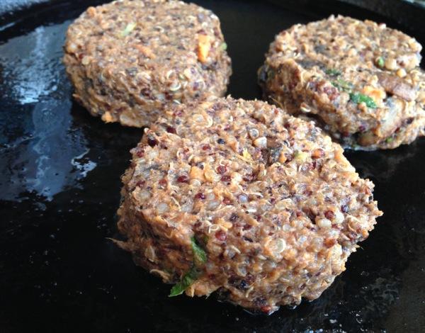 Supernatural Quinoa Mushroom Cakes