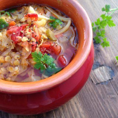 Tomato Cabbage Soup Recipe