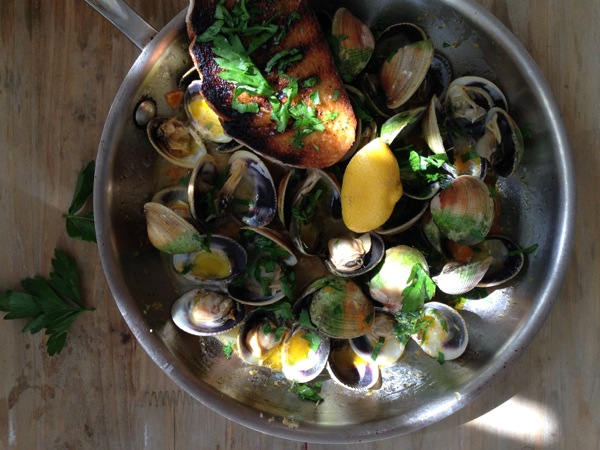Garlic Clams Recipe