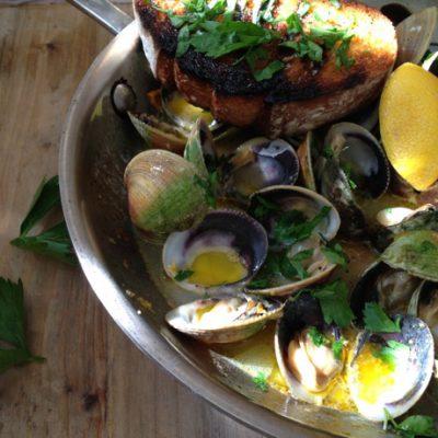 Garlic Clams Recipe