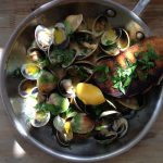 Garlic Tomato Clams Recipe