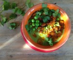 Caramelized Carrots Green Pea Soup Recipe