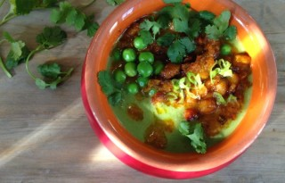 green pea carrot soup recipe