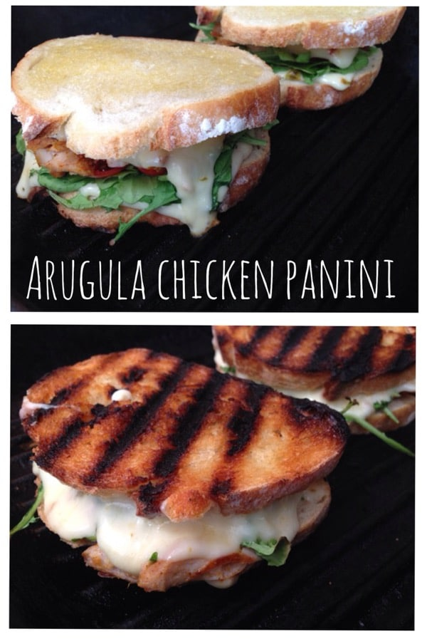 Arugula Chicken Panini Recipe