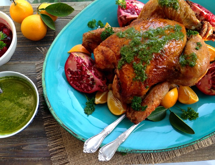 Best Garlic Roasted Chicken Recipe