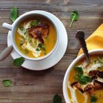 Butternut Squash Soup with Chanterelle Mushroom Recipe