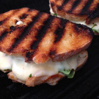 Arugula Chicken Panini Recipe