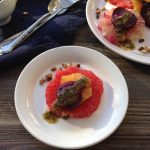 Citrus Beet Salad with Lemon Balm