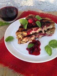 Cranberry Brie Turkey Panini Recipe