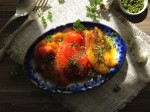 Gremolata Roasted Pepper Salad Recipe