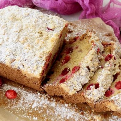 Cranberry Ricotta Bread Recipe + Video