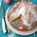 Orange Cranberry Ricotta Cake Recipe