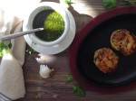 Shrimp Polenta Cakes with Chimichurri Recipe