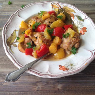 Orange Braised Chicken Recipe