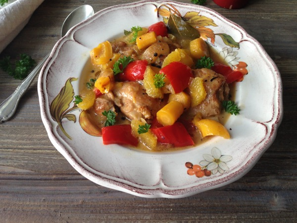 Orange Braised Chicken Recipe