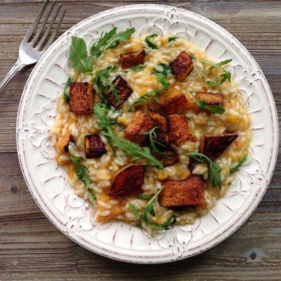 Roasted Butternut Squash Risotto Recipe