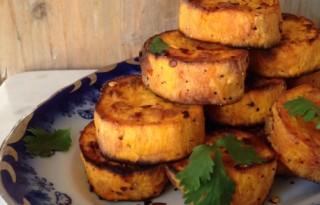 Roasted Sweet Potatoe Rounds Recipe