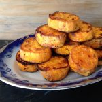 Roasted Sweet Potatoe Rounds Recipe