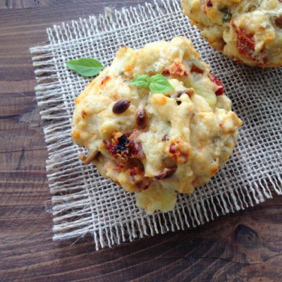 Sun Dried Tomato Goat Cheese Muffins Recipe