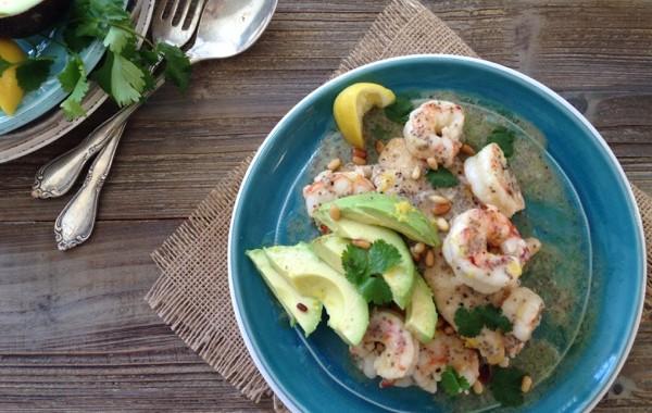 California Chicken and Shrimp Piccata Recipe