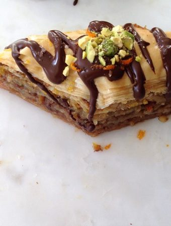 Chocolate Orange Baklava Recipe