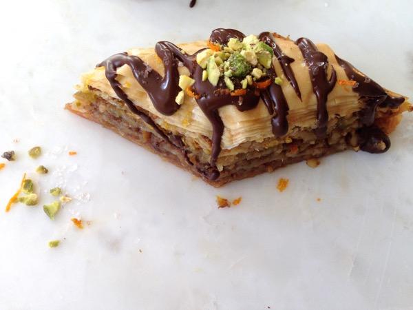 Chocolate Orange Baklava Recipe
