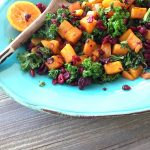 Kale Butternut squash Winter Salad Recipe