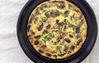 Mushroom Frittata Recipe